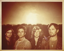 DAN WINTERS - Hey, Kings of Leon: That's a big sky overhead. Look out!