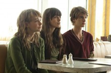 ALEX BAILEY - Carey Mulligan, Keira Knightley and Andrew Garfield in Never Let Me Go.