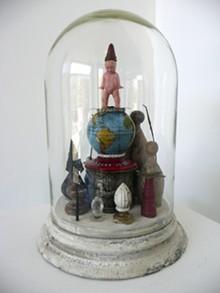 COURTESY HOFFMAN LACHANCE CONTEMPORARY - Jon Cournoyer, untitled, mixed media.