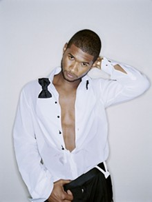 Usher: Here he stands.