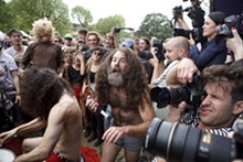 Monotonix: You never know what you're going to get with this band, save for garage scuzz and unpredictable stage antics.