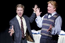 JOHN LAMB - Ben Nordstrom and Steve Isom in Gutenberg! The Musical!