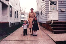 Easter, 1985: The author, right, with her mother, Gerri, and younger brother, Jeff.