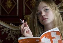 Elle Fanning in Sofia Coppola's Somewhere