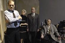 STEVE KRIECKHAUS - No love (seat) lost: John Contini, Peggy Billo, Peter Mayer and Bob Harvey in The Price.