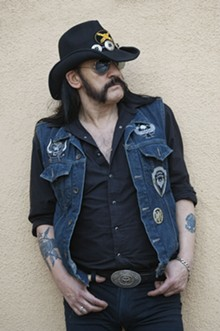 Lemmy: 49% Motherfucker, 51% Son of a Bitch, 100% rock god.