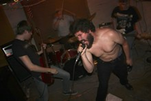Shaved Women: One of the bands keeping St. Louis hardcore alive.