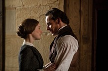 LAURIE SPARHAM - A place for us: Mia Wasikowska and Michael Fassbender as Jane Eyre and Mr. Rochester.