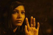 Freida Pinto is one of Miral's many faces of young Palestine.