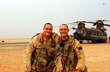 DONALD LEE - Pat Tillman and his brother Kevin.