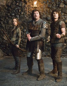 FRANK CONNOR - Natalie Portman, Danny McBride and James Franco get medieval in Your Highness.