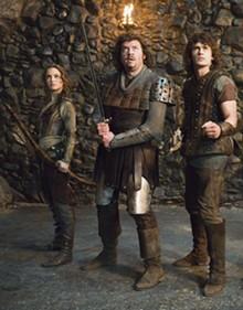 FRANK CONNOR - Natalie Portman, Danny McBride and James Franco get medieval in Your Highness.