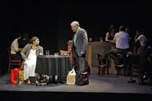 """Emily Baker and William Roth in """"Helter Skelter."""""""