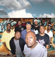 MIKE JOHNSON - Rob Boo (front) and the rest of the S.L.U.M. Fest board.