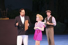 LARRY PRY/THE MUNY - Tom Hewitt, Andrea Chamberlain and Kenny Metzger.