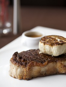 JENNIFER SILVERBERG - Prime 1000's New York strip steak. Click here to view more photos from Prime 1000.