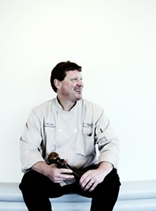 JENNIFER SILVERBERG - Bixby's executive chef Todd Lough.
