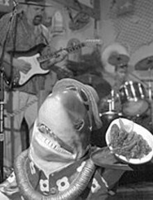 JENNIFER  SILVERBERG - Everyone -- including plastic sharks -- loves Graham's - crawdads.
