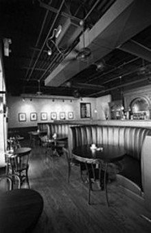 JENNIFER  SILVERBERG - King Louie's owner, Matt McGuire, recently expanded the dining room to seat 150.