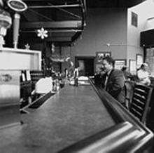 JENNIFER  SILVERBERG - Joe Leber relaxes at J. Buck's.