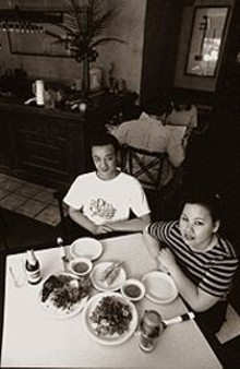 JENNIFER  SILVERBERG - Mike and Tami Trinh of Pho Grand, home to nearly 100 alluring, reasonably priced menu choices