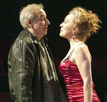 JOHN LAMB - Bobby Miller and Kari Ely in New Jewish Theatre's Sirens.
