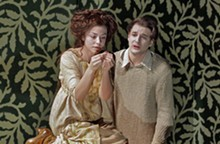 KEN HOWARD - Corinne Winters and Liam Bonner in Opera Theatre of Saint Louis' production of Pelléas and Mélisande.