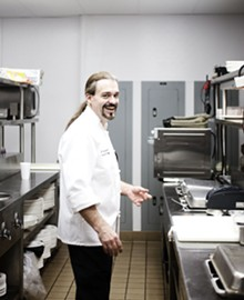 JENNIFER SILVERBERG - Executive chef Brian Duffy Grant.