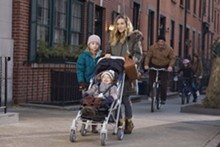 No sex and the kiddies: Sarah Jessica Parker plays a mom on the run in Boston in I Don't Know How She Does It.