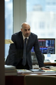He's fired: Stanley Tucci in Margin Call.