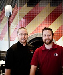 JENNIFER SILVERBERG - Twin brothers Curt and Casey Friedrich own the restaurant with their father Bill.