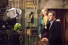 Muppetational, if not inspirational: Jason Segel and Amy Adams share top billing.