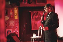 BRYAN SUTTER - Comedian Neil Hamburger at Cicero's.