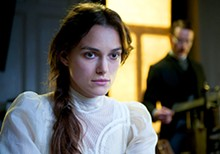 SONY PICTURES CLASSICS - Analyze this: Keira Knightley as Sabina Spielrein in A Dangerous Method.