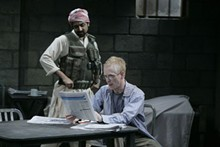 JERRY NAUNHEIM JR. - Bhavesh Patel as Bashir and John Hickok as Nick.
