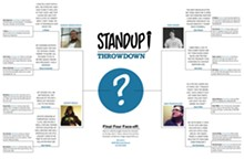 Download the Standup Throwdown bracket for a look at the entire competition