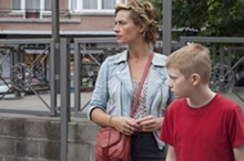 In tandem: Cécile de France and Thomas Doret in The Kid with a Bike.