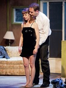 JOHN LAMB - Rachel Fenton and Jason Cannon bring life to Killer Joe.