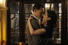In  The Deep Blue Sea : Tom Hiddleston and Rachel Weisz.