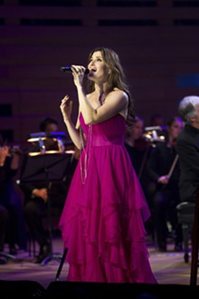 ROBIN WONG - There's nothing wicked about Idina Menzel.