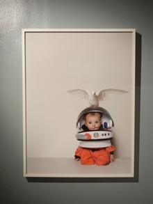 Contemporary Icons at the Cecil R. Hunt Gallery: Daniela Kostova, Cosmonaut, 2011  c-print