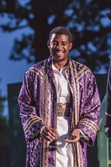 DAVID LEVY - Billy Eugene Jones during a recent performance of Othello.