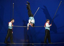 STEVE TRUESDELL - The Flying Wallendas at Circus Flora will make you flip your lid.