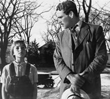 Tatum O'Neal and Ryan O'Neal in Paper Moon.