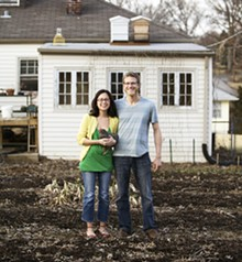 JENNIFER SILVERBERG - Homegrown: Danielle and Justin Leszcz of Affton's YellowTree Farms.