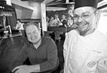 JENNIFER  SILVERBERG - Lone Star plate: Owner Steve Gontram (left) and - executive chef Eric Erhard bring ingenuity to Tejas.