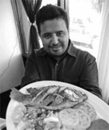 JENNIFER  SILVERBERG - Hot table: Dennis Machado brings irresistible - Honduran cuisine to Cherokee.