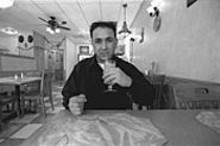 JENNIFER  SILVERBERG - Abbas Alatbi, owner of Babylon International, stocks his menu with items that represent cuisines from a wide sphere of influence.