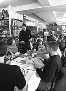 JENNIFER  SILVERBERG - Brandt's Market & Café: Eclectic menu caters to a diverse group of patrons.