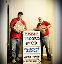 JENNIFER SILVERBERG - John Frese and Carl Kuelker: Who says records are a thing of the past? Not these guys.